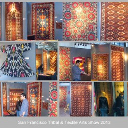 San Francisco Tribal & Textile Art s Show-2013